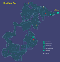 Headstone Mine Map