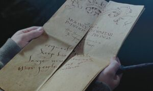 Marauder's Map insults Snape