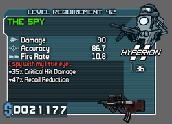 Hyperion The Spy Green