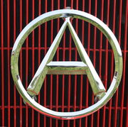 Atkinson Big A grill badge IMG 1884