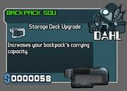 Backpack SDU