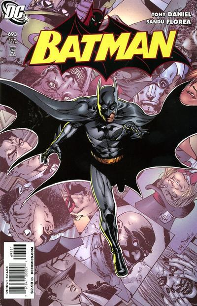 Cover for Batman #693