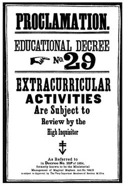 Educational Decree Number 29 (non-canonical)