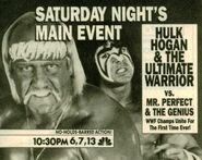 Saturday Night's Main Event XXV Ad