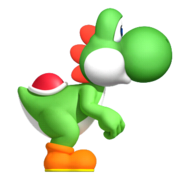 Yoshi NSMBW