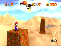 SM64 Screenshot Wobiwaba Wüste