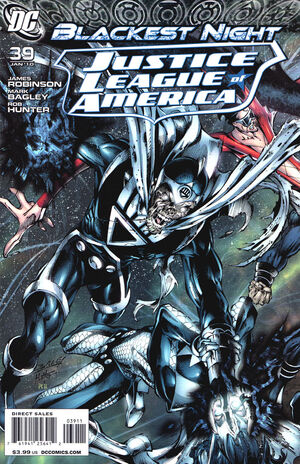 Cover for Justice League of America #39