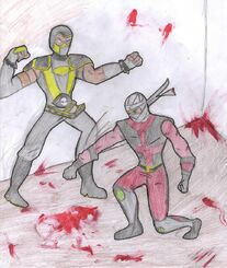 Scorpion vs Ermac