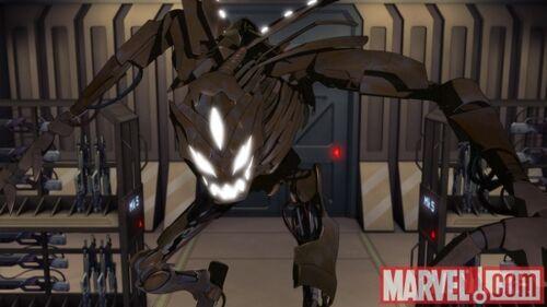 Technovore Iron Man Armored Adventures Wiki