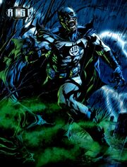 Batman is resurrected as a Black Lantern
