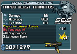 TMP88 Blast Thanatos