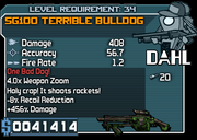 34 SG100 Terrible Bulldog