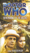 Remembrance of the daleks rerelease uk vhs