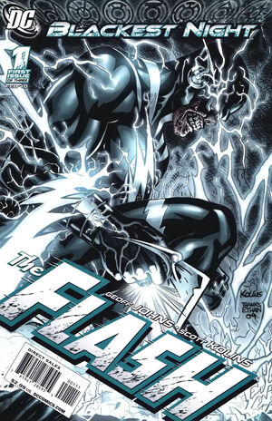 Cover for Blackest Night: Flash #1