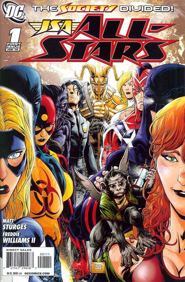 Jsa all stars vol 1 dc comics database