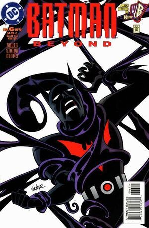 Cover for Batman Beyond #6