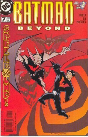 Cover for Batman Beyond #7
