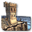 Harbor defense tower icon