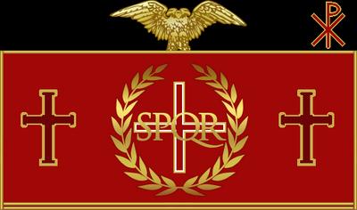 The Roman Flag or Vexillum