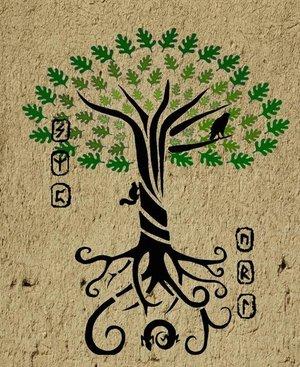 Yggdrasil the World Tree Tattoos