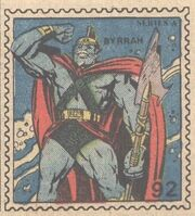 Byrrah Marvel Value Stamp