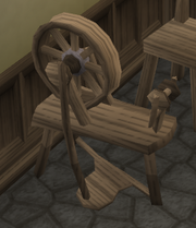Spinning wheel 2