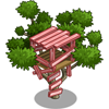 Pink Treehouse-icon