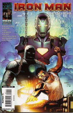 Iron Man- Requiem Vol 1 1