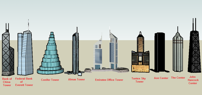 Worlds Tallest Buildings 3