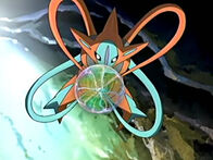 EP448 Deoxys usando Psicoataque
