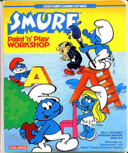 Smurf PNPW Game Box