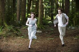 Bella as a vampire in Alice's vision