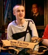 Tom Felton (Draco Malfoy) PoA screenshot