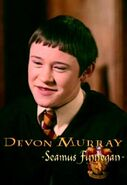 Devon Murray (Seamus Finnegan) CoS screenshot