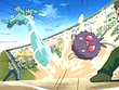 EP403 Golduck contra Venonat