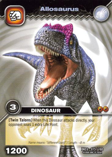 Image - Allosaurus TCG...