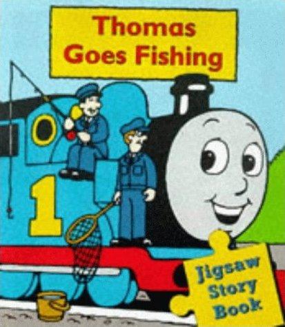 Thomas goes fishing jigsaw book thomas the tank engine for Thomas goes fishing