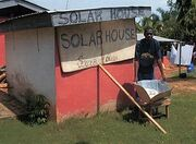 Ghana solar house