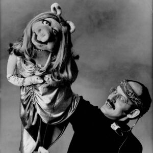 Frank Oz and Piggy