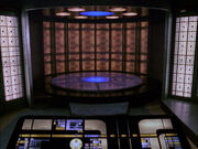 Galaxy class transporter room