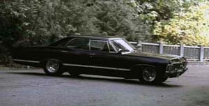 Supernatural Deans Car