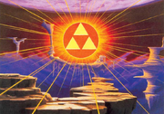 Triforce in the Golden Land