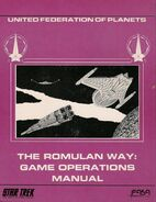 The Romulan Way Game Operations Manual