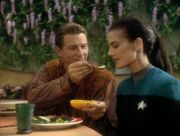 Jadzia with deral meridian