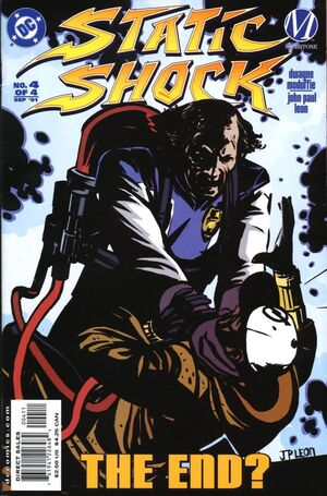 Cover for Static Shock: Rebirth of the Cool #4