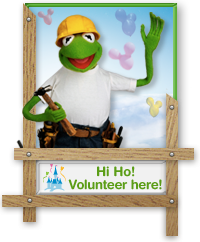 Kermit Volunteer Badge