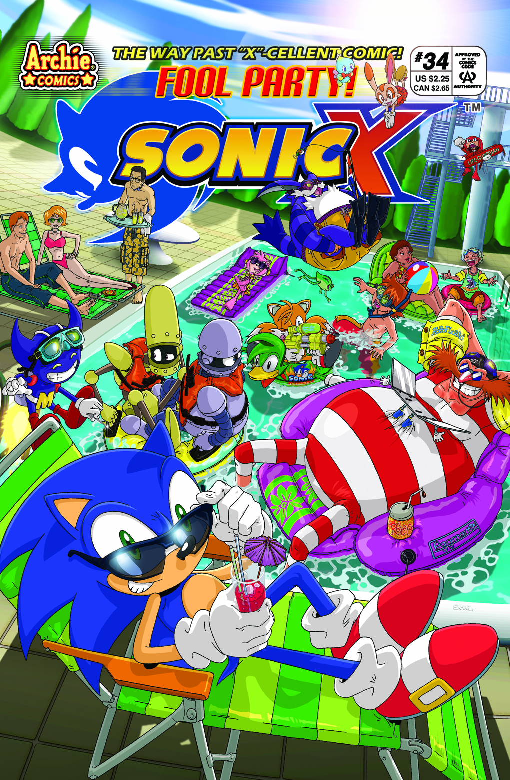 Archie Sonic X Issue 34 Sonic News Network The Sonic Wiki