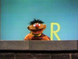 Ernie and an R