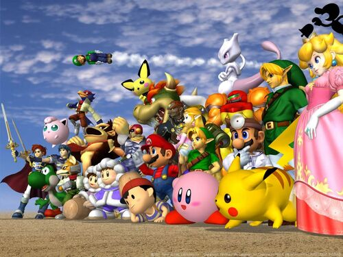 SuperSmashBrosWallpaper1024