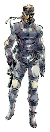 Solid Snake&#39;s sneaking Suit